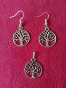 Tree of Life Earrings and Pendant (small)